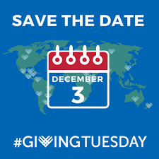 Giving Tuesday December 3