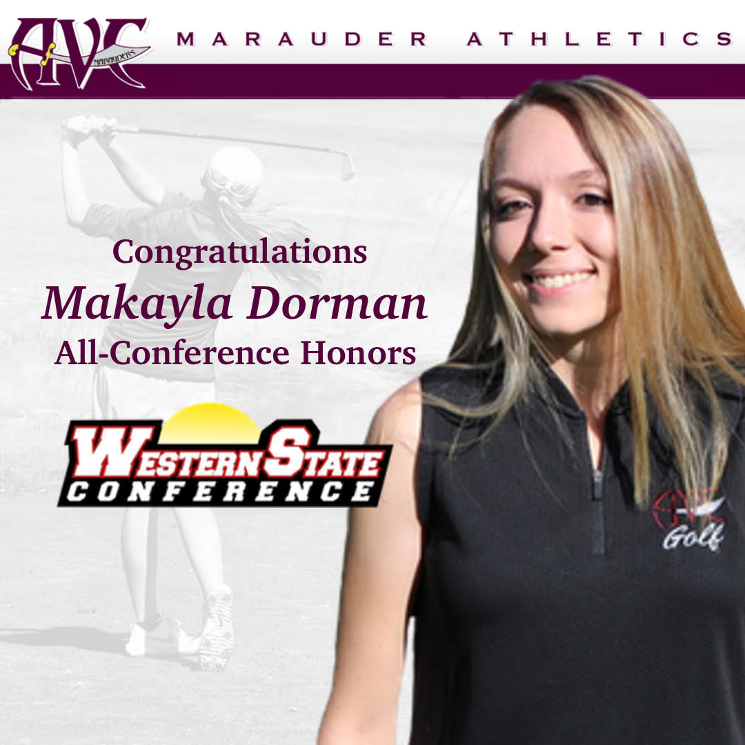 Makayla Dorman All Conference Honors