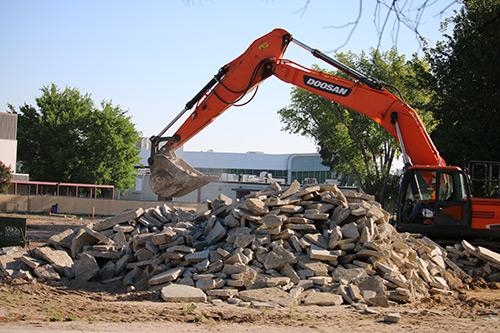 Photo of AVC construction