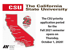 The CSU Application Cycle for Fall 2021 Is Now Open