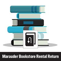 Marauder Bookstore Rental Return