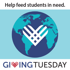 Help feed students in need on Giving Tuesday