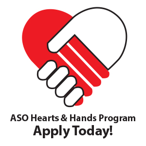 Apply For The ASO Hearts & Hands Program!
