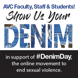 Join Us For Denim Day On Wednesday, April 28 From 1 pm to 2 pm