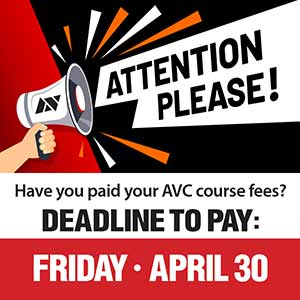 Register for Summer, Plan for Fall: Don't Forget to Pay Your Fees!