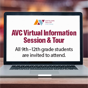 AVC Outreach is Hosting a Virtual Info Session On April 20 from 3 p.m. to 5 p.m.