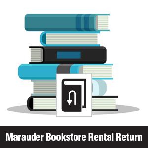 Marauder Bookstore Rental Returns