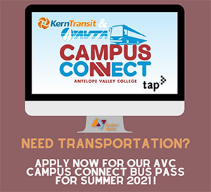 Campus Connect (Bus Pass) Application NOW OPEN