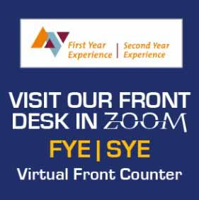 Visit the FYE/SYE Zoom Front Counter Today