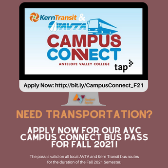 Need Help With Transportation - Apply For Campus Connect Today