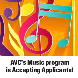 AVC's Music Program is Accepting Applicants