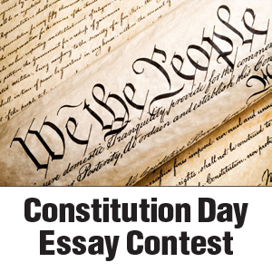 Constitution Day Essay Contest Now Open