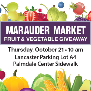 Marauder Market Food Distribution