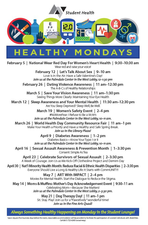 Healthy Mondays Flyer