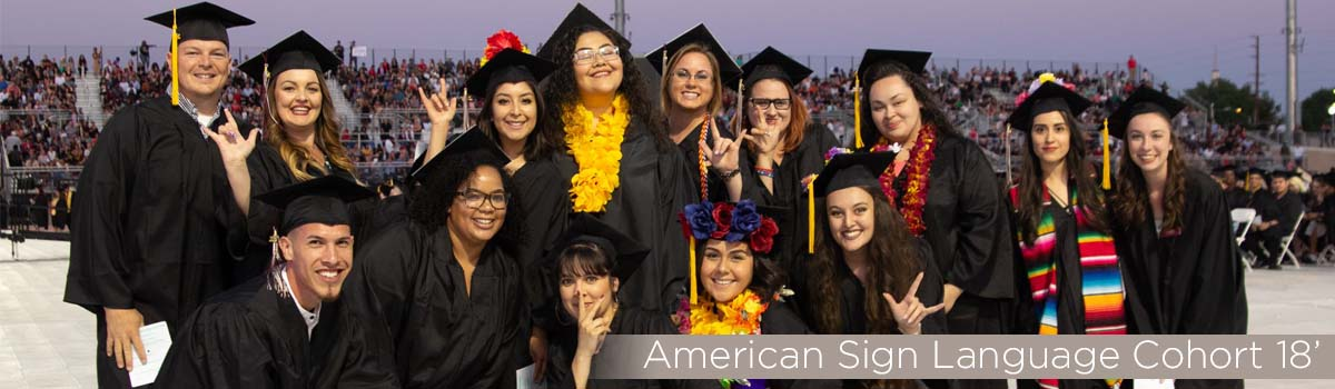 american sign language class of 2018