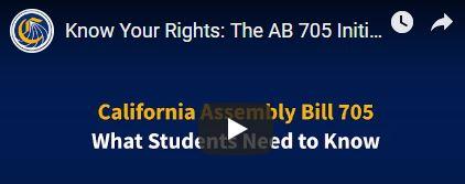 AB 705 Video