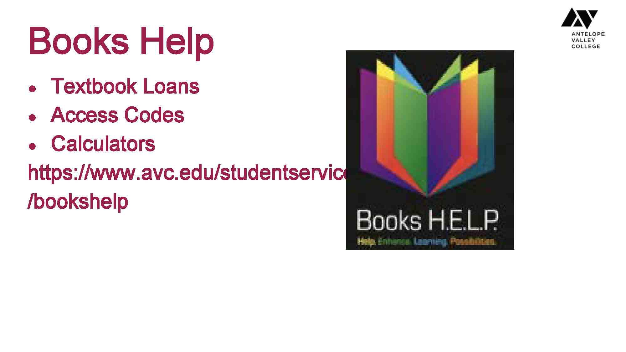 Basic needs books help