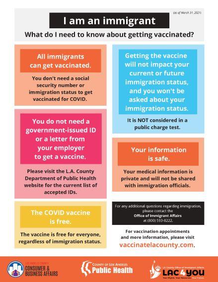 Immigration VAXX Info