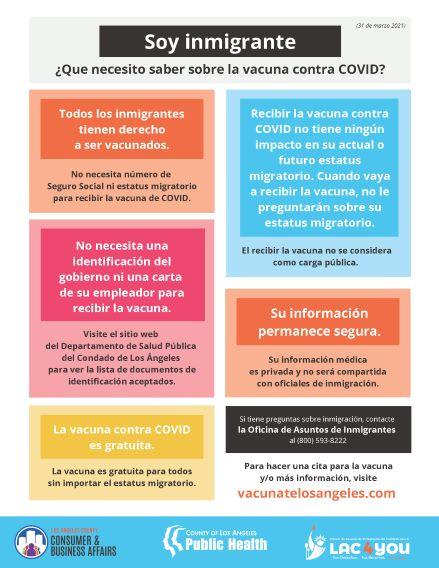 Immigration VAXX Spanish