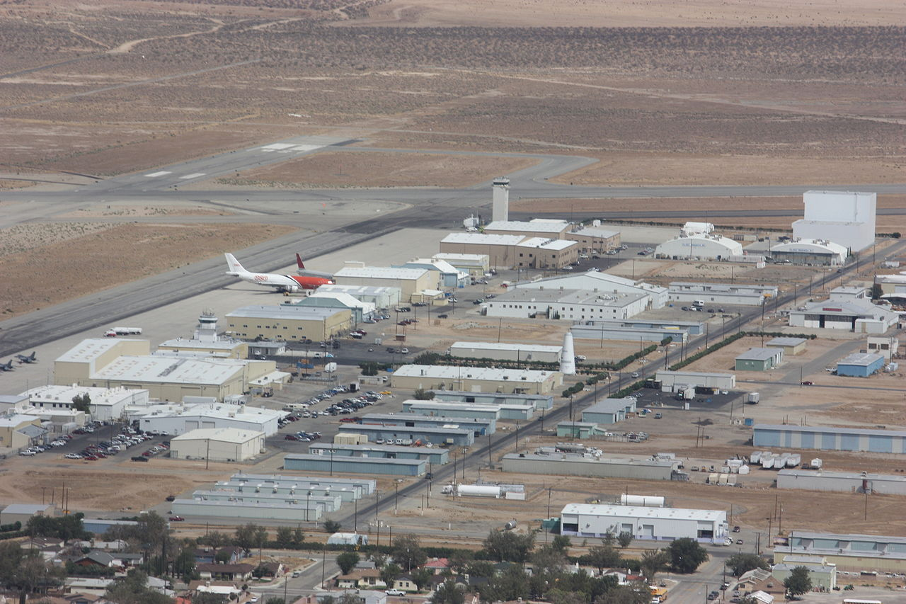 Mojave Air and Space Port Arial Location