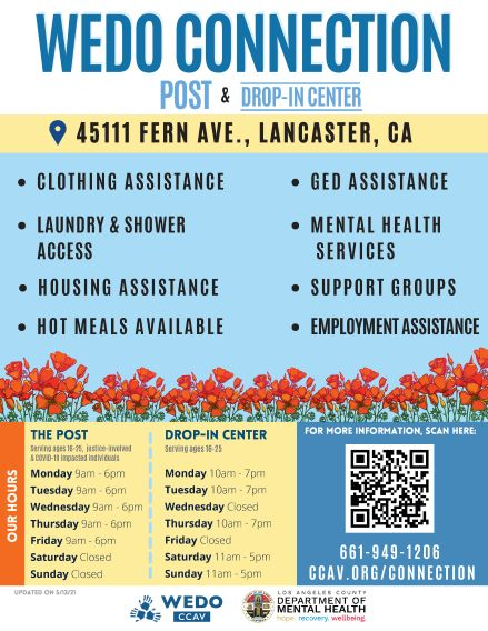 OSC Drop-In Center Flyer Page 1