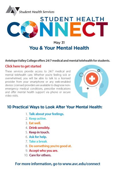 Student Health Connect May 31