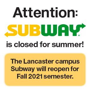 Subway Summer Closed