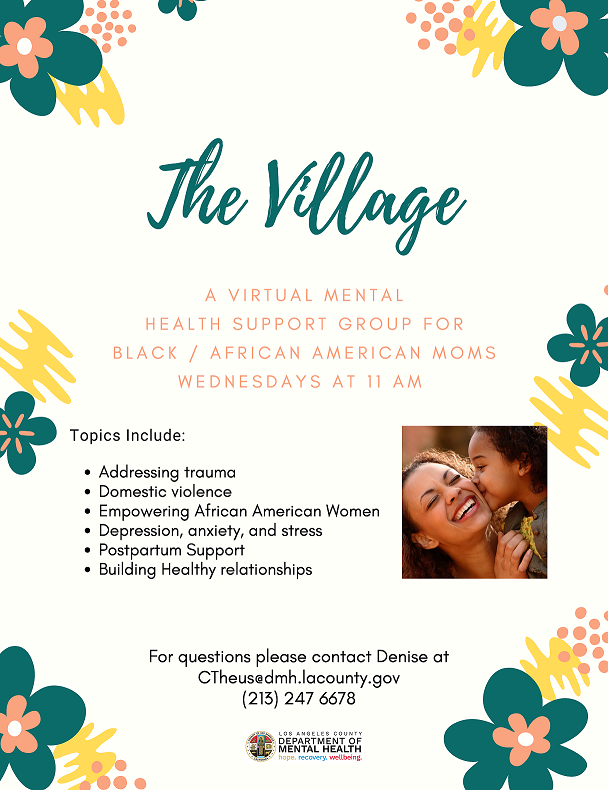 The Village Virtual Mental Health Support Group