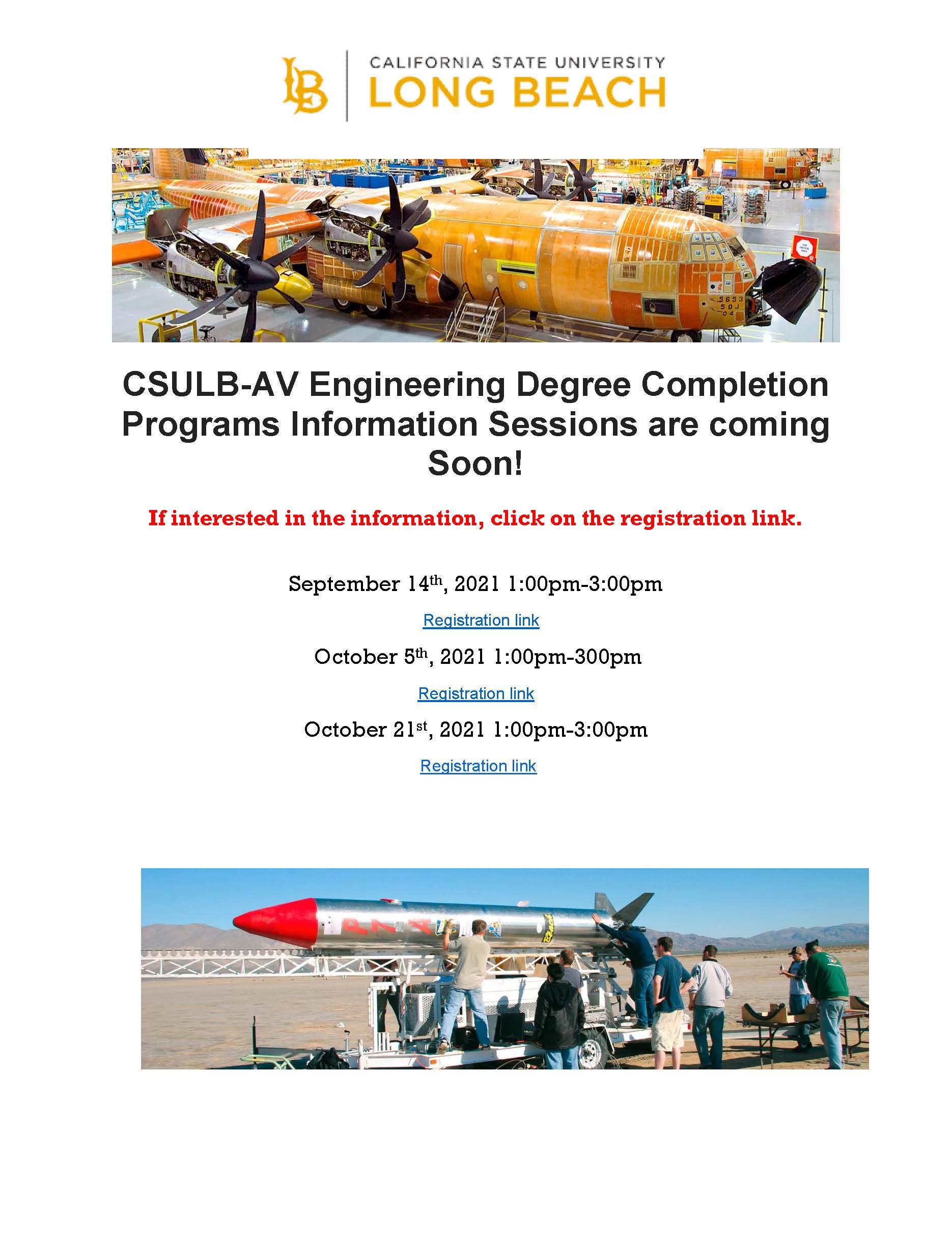 CSULB Engineering Rep visits Fall 2021
