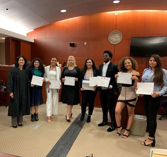 Teen Court Certificates May 2019