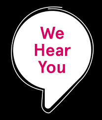 we hear you graphic