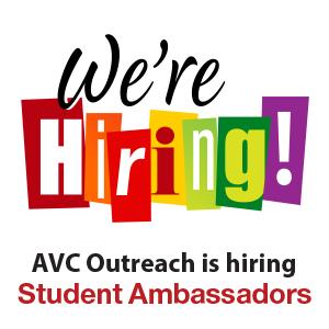We Are Hiring Student Ambassadors