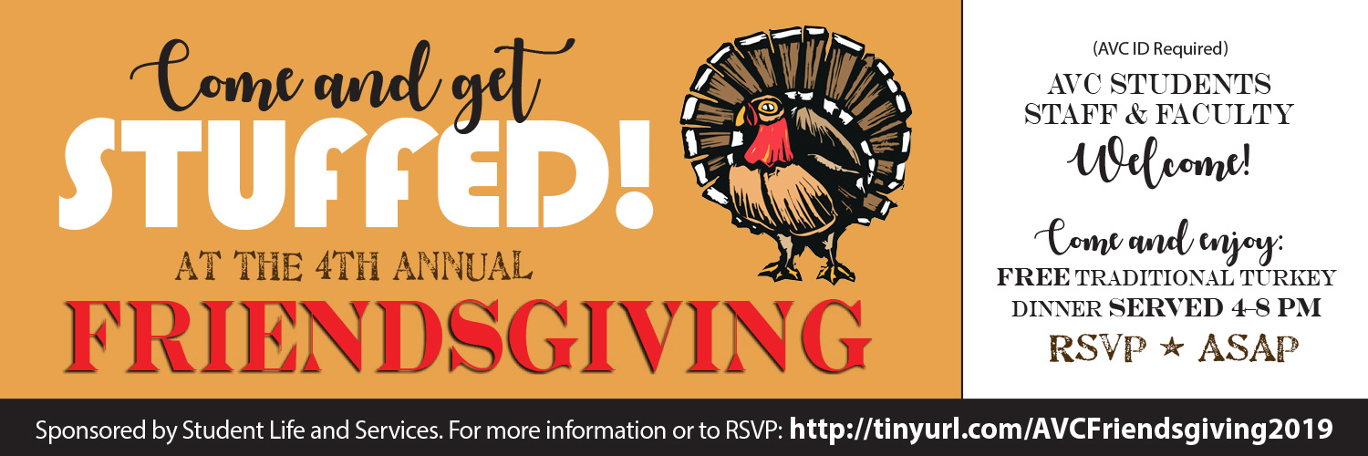 Come and get stuffed on Tuesday, November 26.