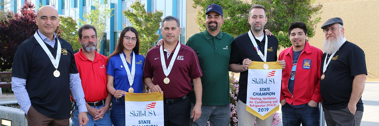 AVC Skills Club students win state championship
