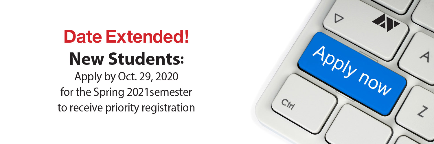 Priority Registration - Apply Now