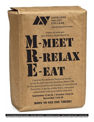MRE - Meet, Relax, and Eat with the Veterans Resource Center